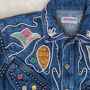 Vintage late 80's early 90's denim jacket